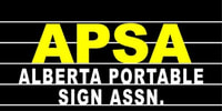 ALBERTA PORTABLE SIGN ASSOCIATION